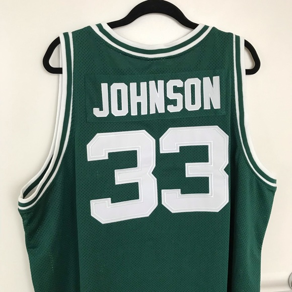 info for c64ee 439ce NCAA Magic Johnson Michigan State Throwback Jersey
